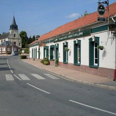 The hotel l'Auberge fleurie