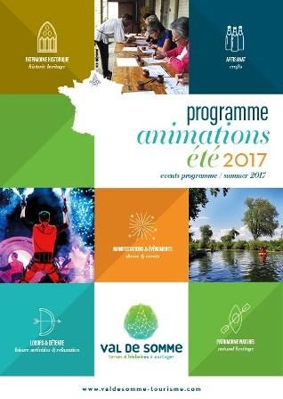 Couverture programme animations estivales 2017 site