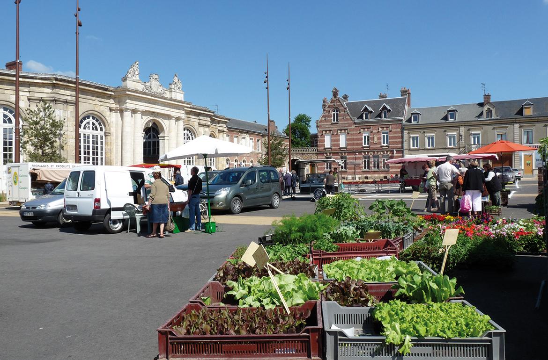 Market in Corbie