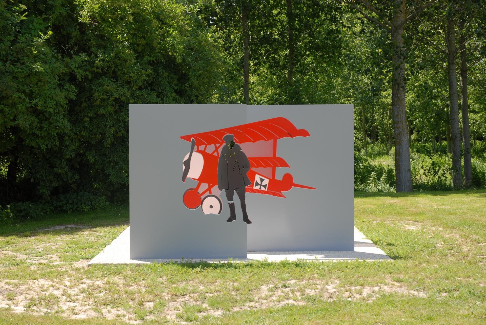 The Red Baron Anamorphosis