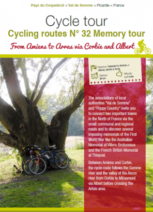 Cycling routes n°32 Memory Tour